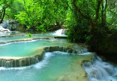 laos cascate di kuang si