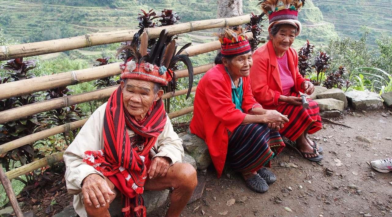le risaie di luzon filippine
