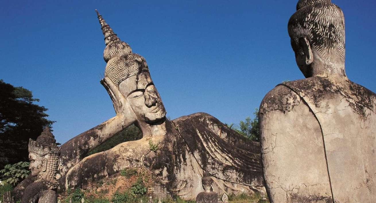 Wat Xieng Khuan, Vientiane