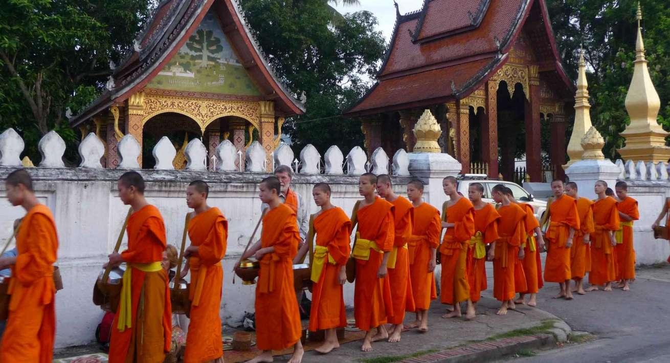 La questua Luang Prabang