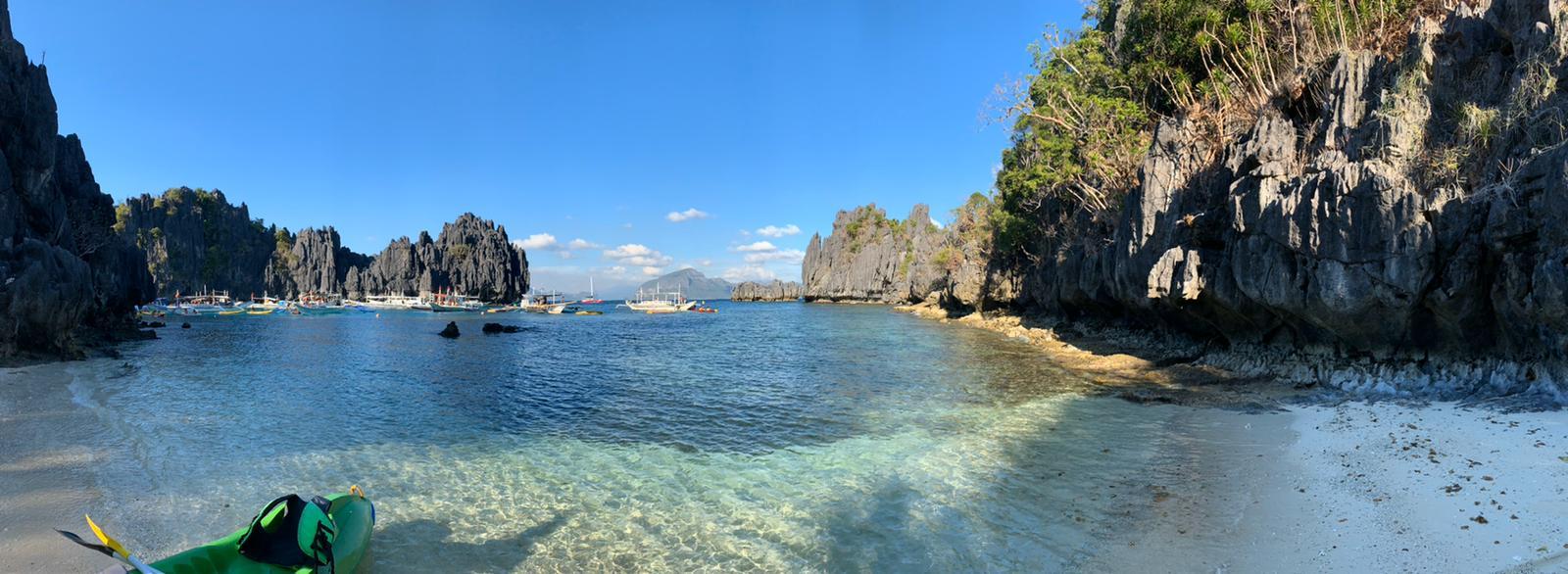 viaggio nelle filippine - miniloc Island e lagune
