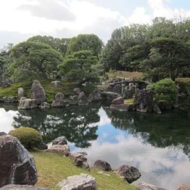 parco del palazzo imperiale