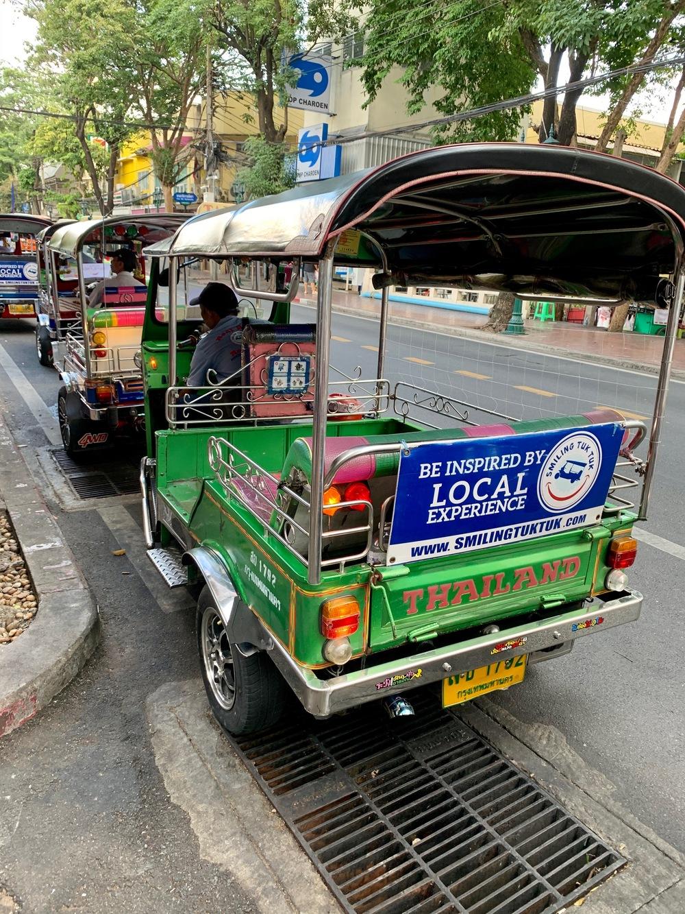Mercato serale Bangkok